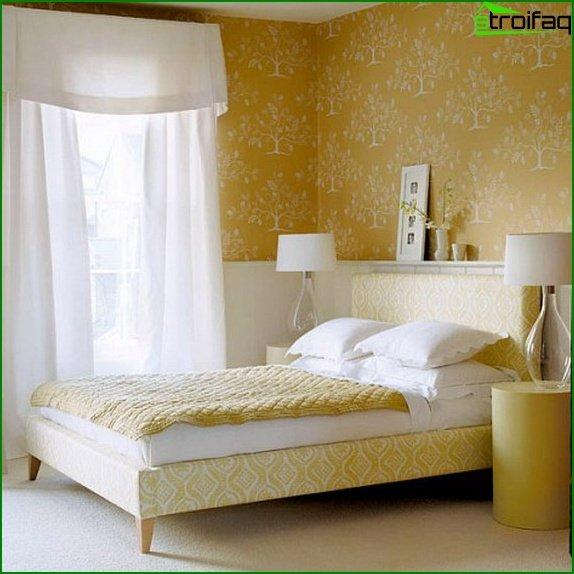 Diseño de dormitorio pequeño 7