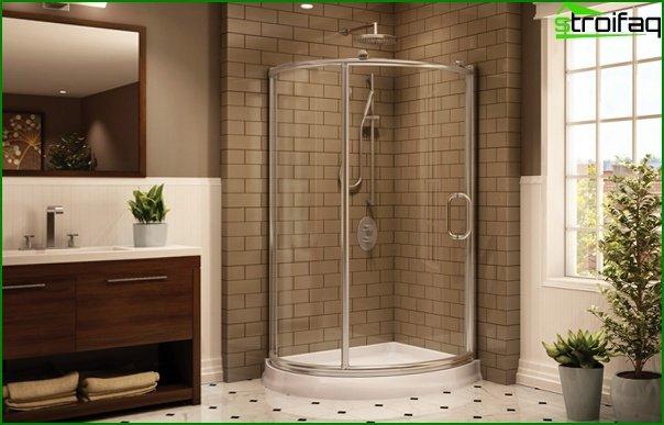Відкрита душова кабіна - 1