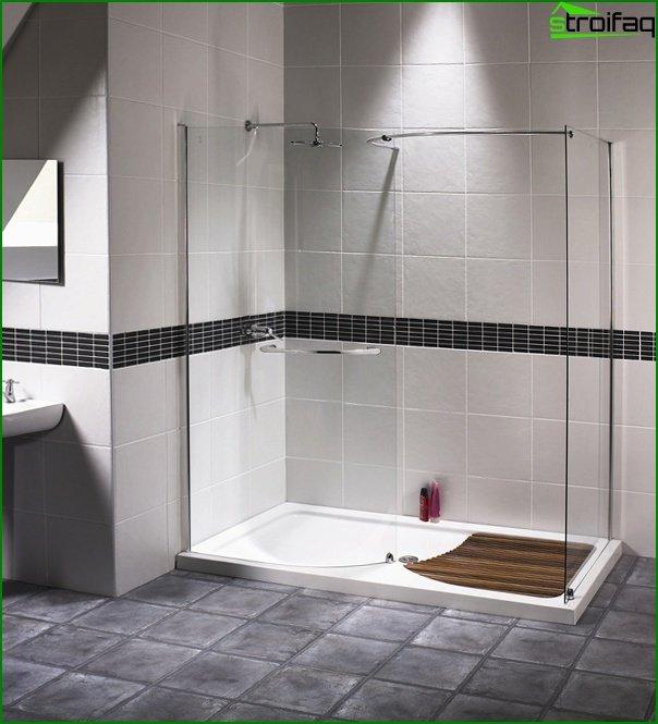 Відкрита душова кабіна - 2