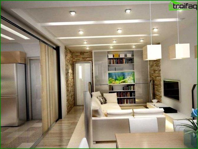 شقة من غرفة واحدة - الصورة 1
