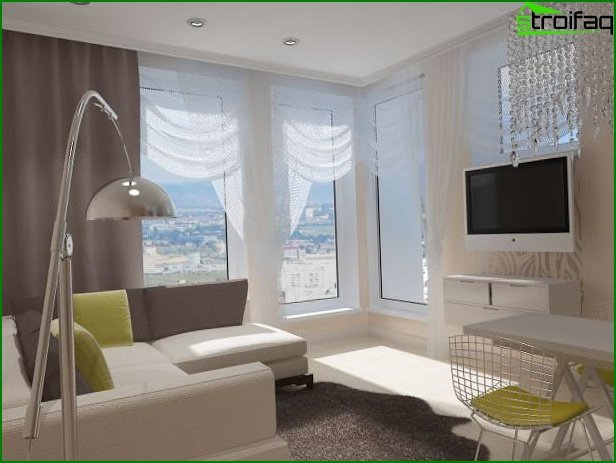 Studio apartment design 2