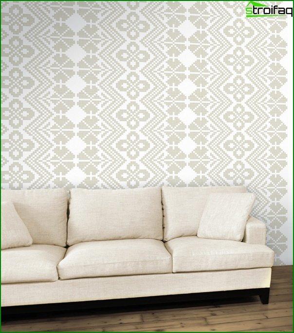 Piękna tapeta z włókniny - 3