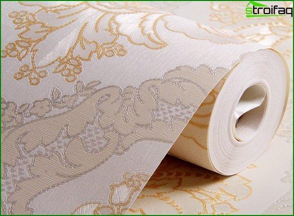 Zdjęcie tapety z włókniny we wnętrzu - 2