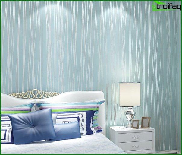 Dormitorio (papel pintado no tejido) - 2