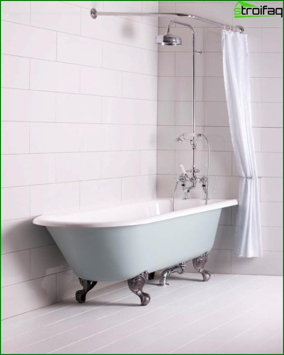 Shower with bathtub - 3