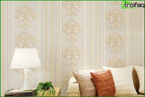 Papel pintado no tejido para la sala de estar - 5