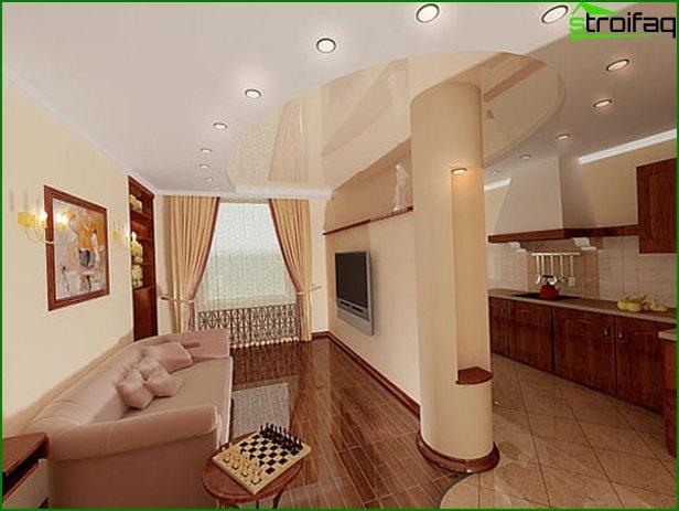 شقة بغرفة واحدة - الصورة 2