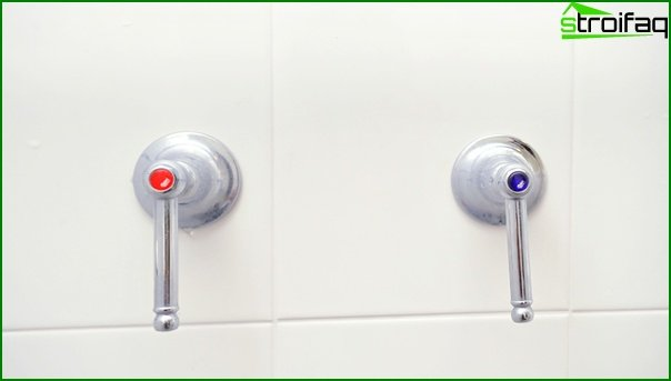 Mixers for a shower cabin - 2