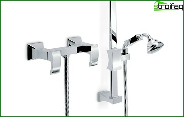 Mixers for a shower cabin - 3