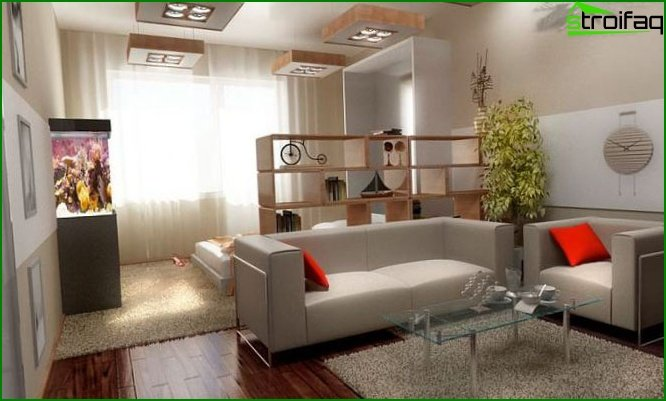 Studio apartment design 15