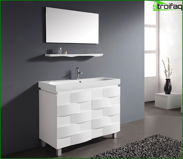 Metal bathroom furniture - 4