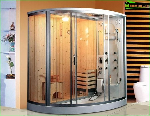 Built-in sauna - 1