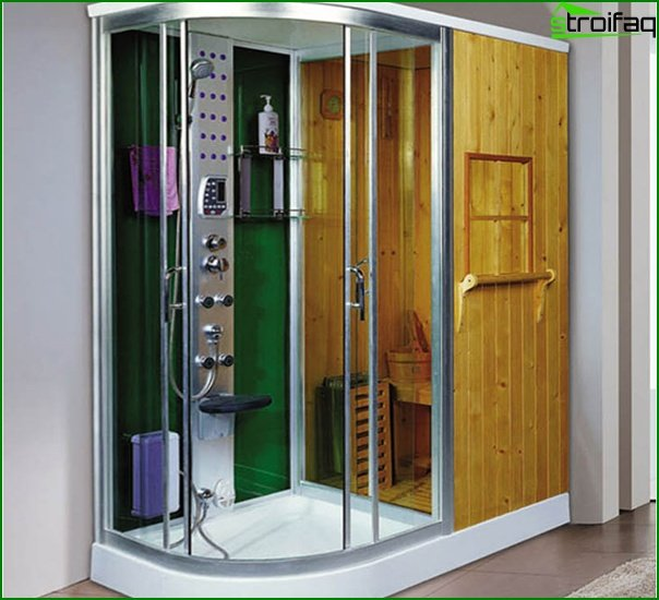 Built-in sauna - 2
