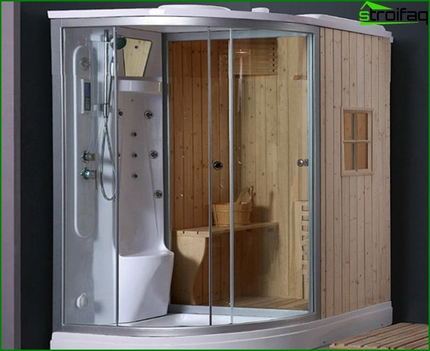 Built-in sauna - 4