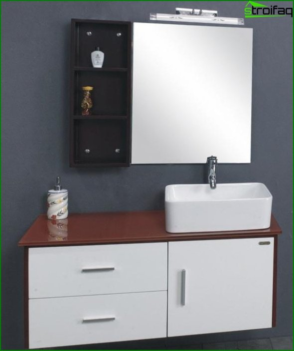 Furniture for a bathroom from plastic - 2