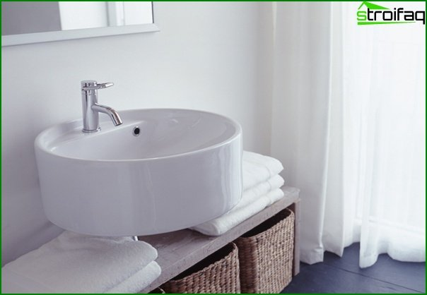 Furniture for a bathroom from plastic - 3