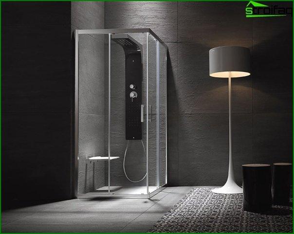 Озонування в душовій кабінці
