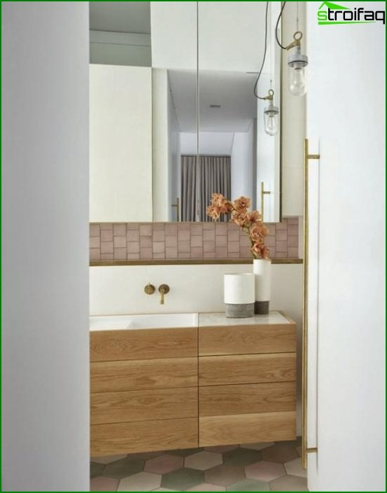 Furniture for a bathroom from MDF / Particleboard - 2