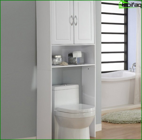 Furniture for a bathroom from MDF / Particleboard - 4