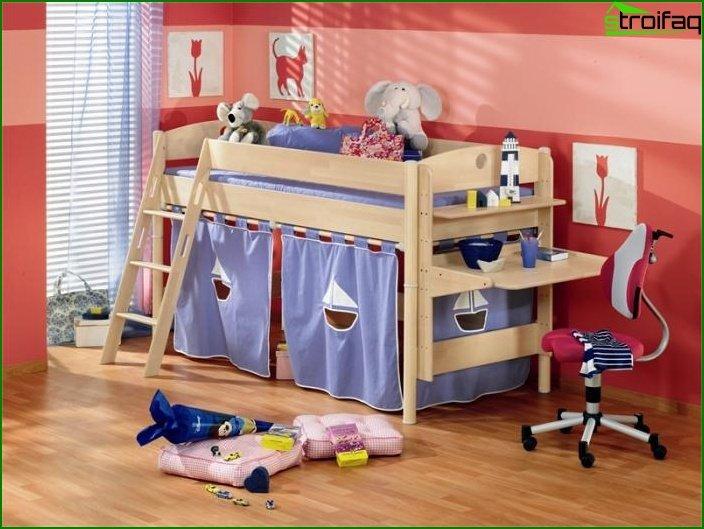 تصميم شقة استوديو لعائلة لديها طفل 2
