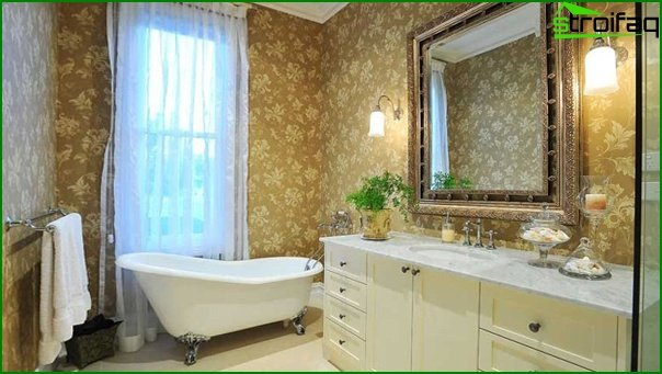 Classic style bathroom furniture - 3
