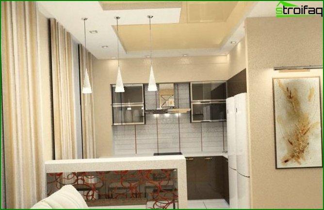 شقة من غرفة واحدة - الصورة 3