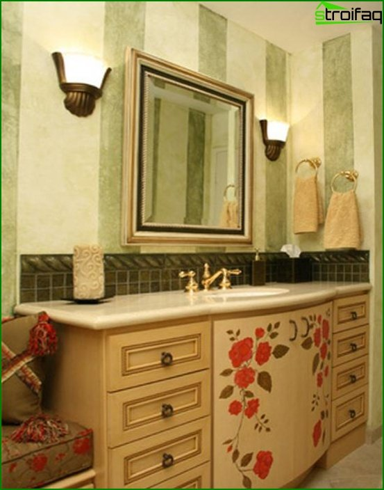 Ethnic bathroom furniture - 3