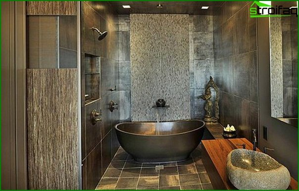 Furniture for a bathroom in ethnic style - 5