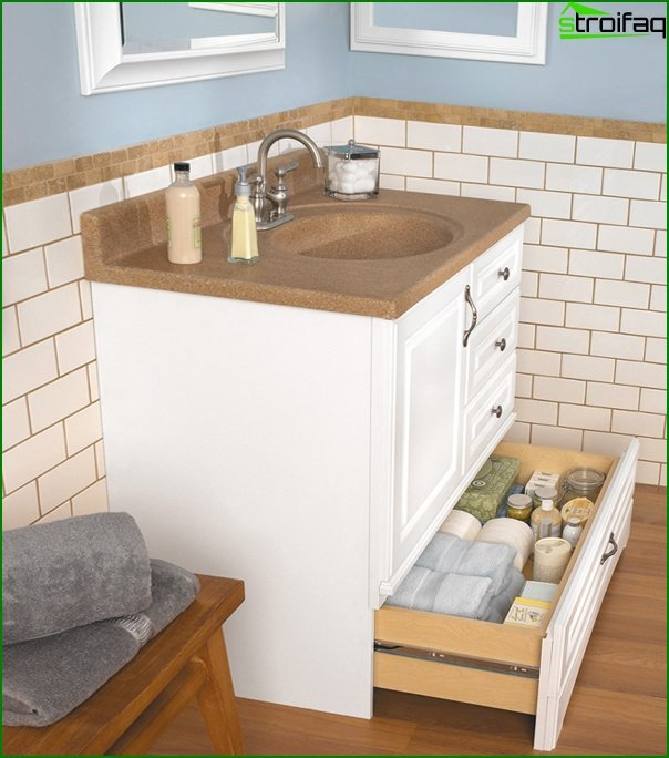Furniture for a bathroom (curbstone) -3