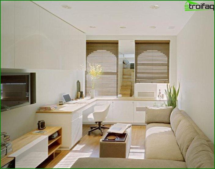 شقة من غرفة واحدة - الداخلية 2