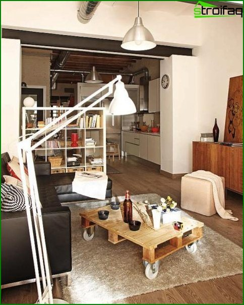 شقة من غرفة واحدة - الداخلية 7