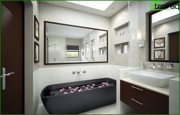 Furniture for a bathroom (bathtub) - 1