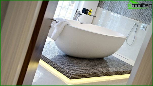Furniture for a bathroom (bathtub) - 2