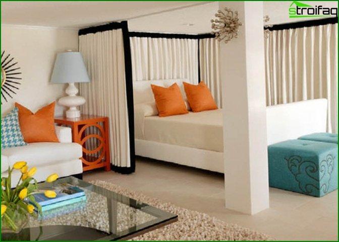 شقة من غرفة واحدة - الداخلية 8