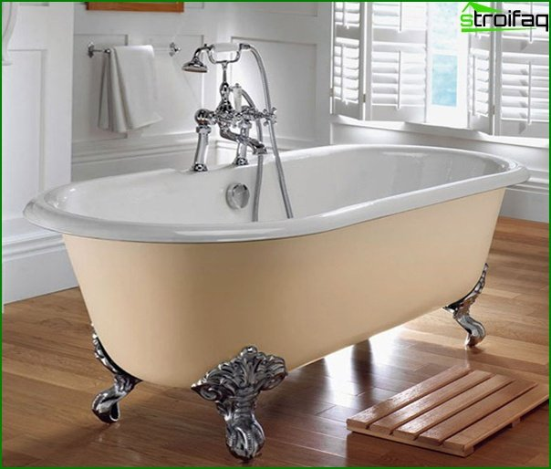 Furniture for a bathroom (bathtub) - 3