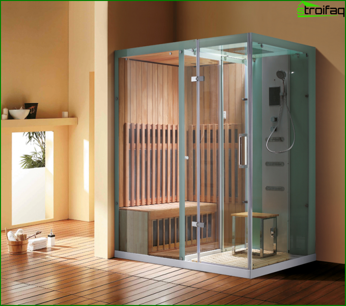Built-in sauna - 5