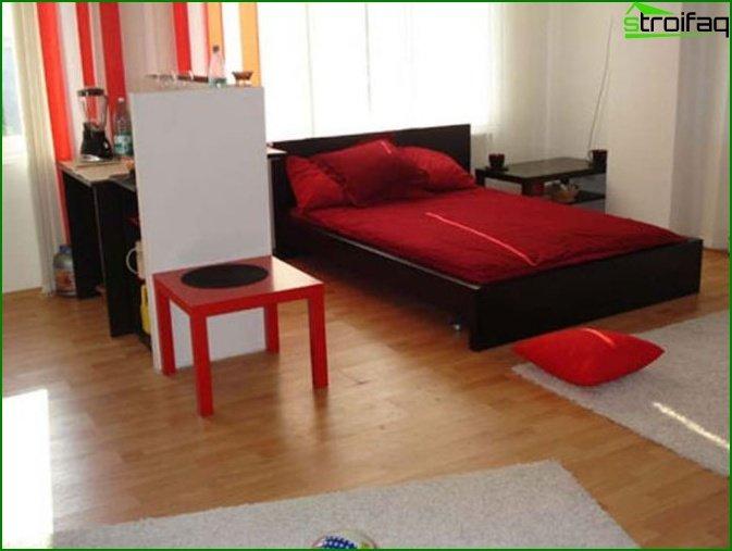 جعل شقة من غرفة واحدة 7