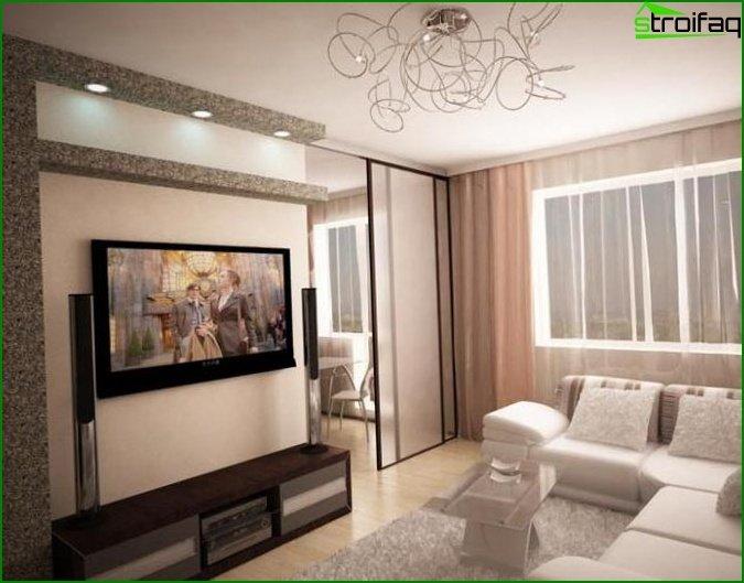 شقة من غرفة واحدة - الصورة 6