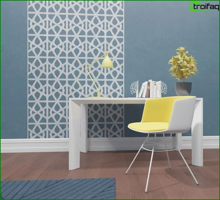 Wallpaper with geometric patterns 3