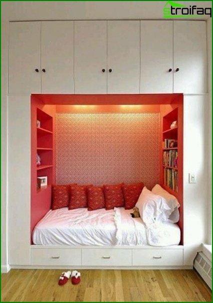 El esquema de color más adecuado para el dormitorio - foto 1