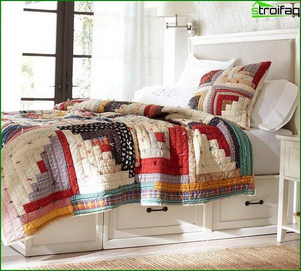 El esquema de color más apropiado para el dormitorio - foto 2