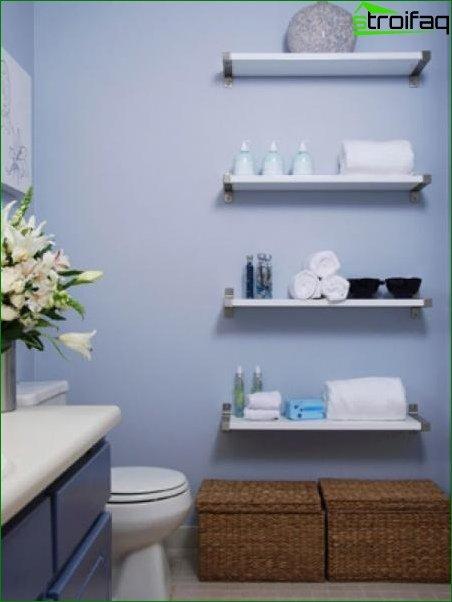 Color scheme for toilet design 8