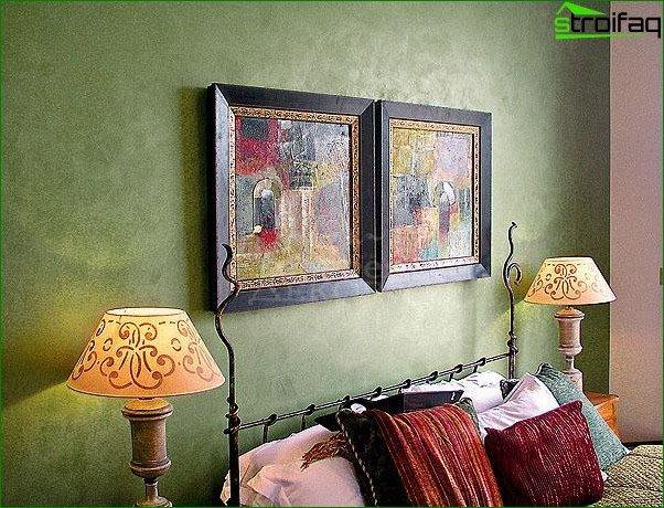 Płynne tapety w salonie i sypialni