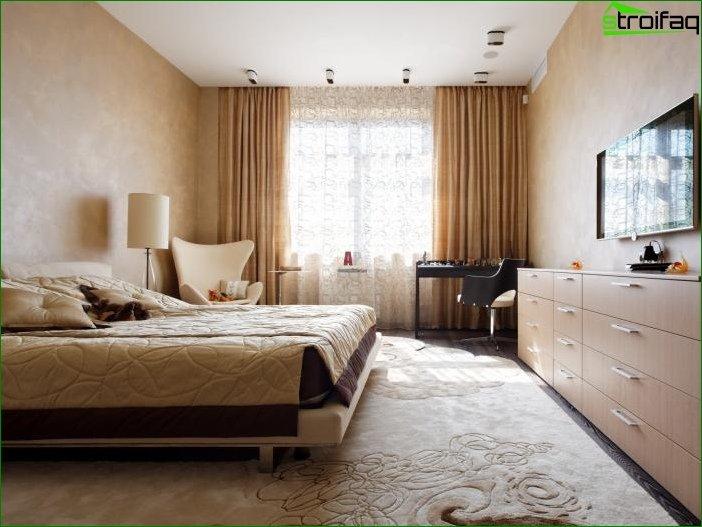 Płynne tapety w salonie i sypialni 5