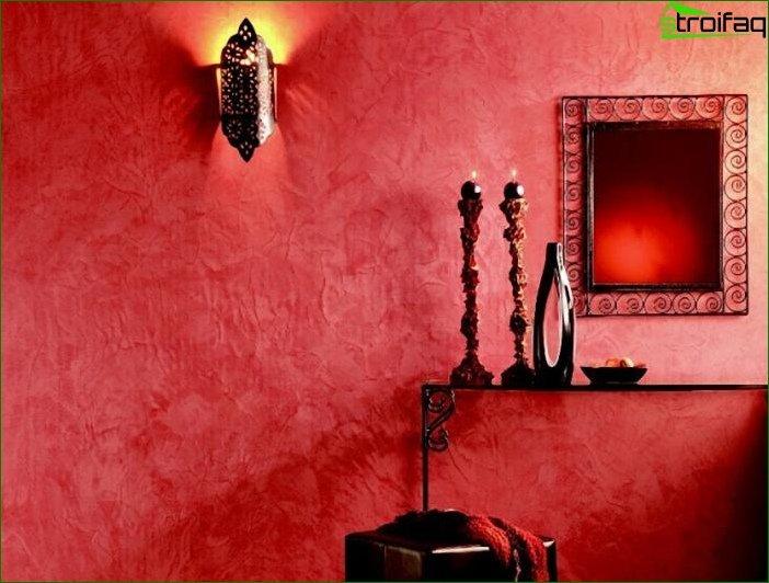 Płynne tapety w salonie i sypialni 8
