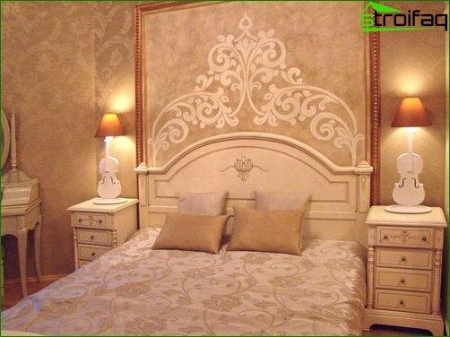 Płynne tapety w salonie i sypialni 11