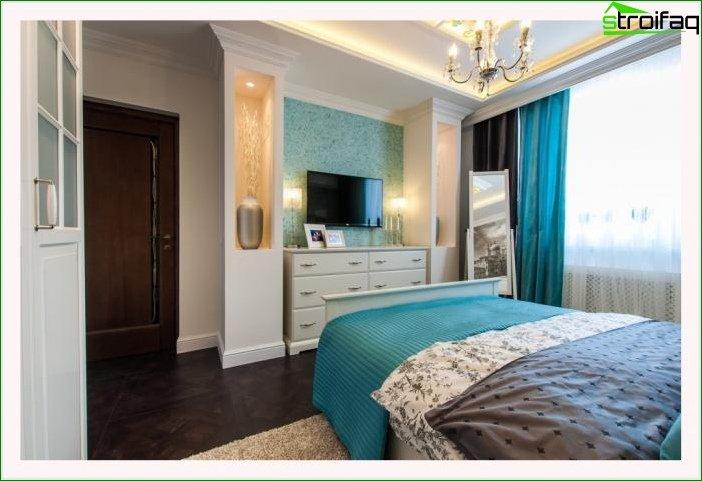 Płynna tapeta w salonie i sypialni 12
