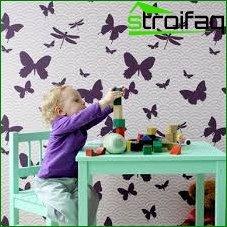 Płynna tapeta w pokoju dziecinnym 4