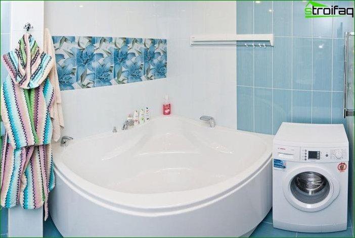 Дизайн ванної кімнати - фото 1