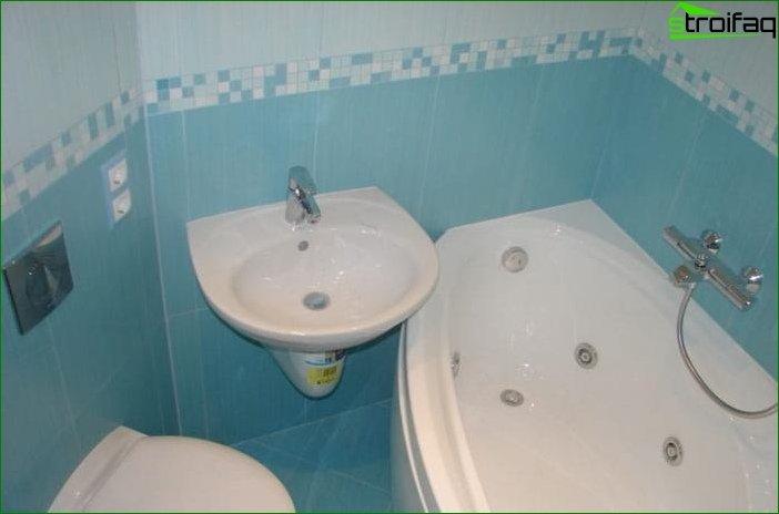 Фото сучасного дизайну ванної кімнати